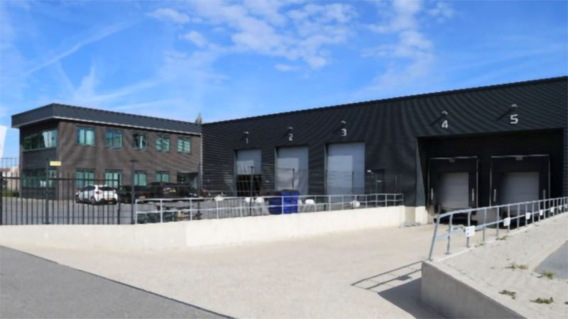 The new 2300 square meter facility in the Netherlands RIGA 2, BARENDRECHT