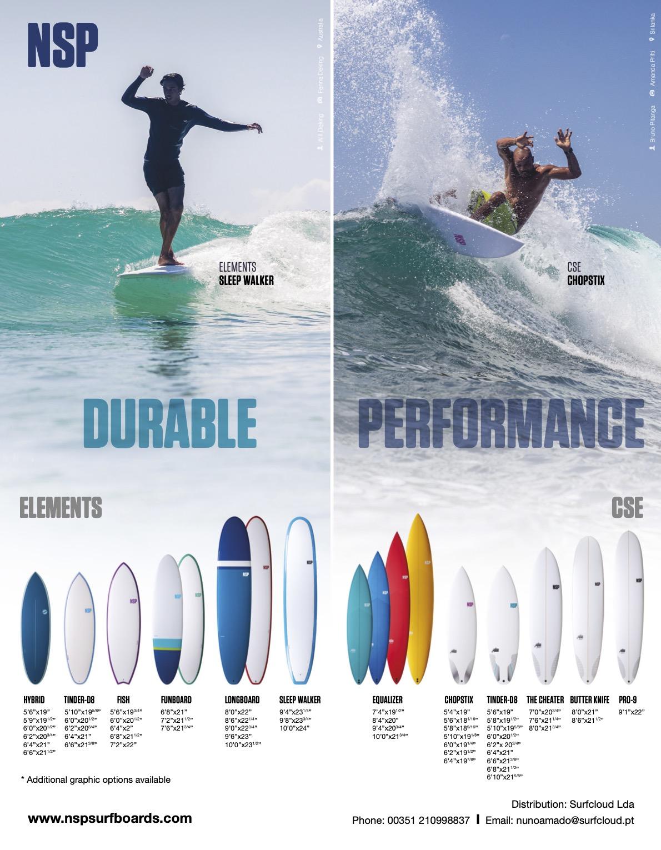 106 NSP SURFBOARDS