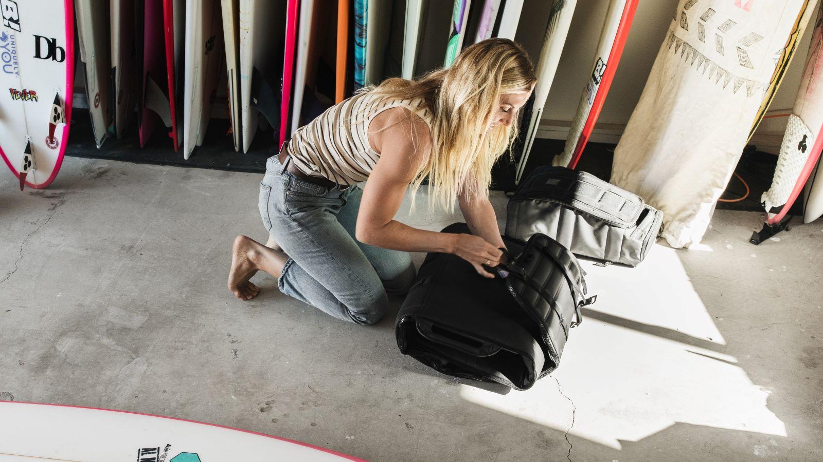 Sage with Shelter adjustable bag