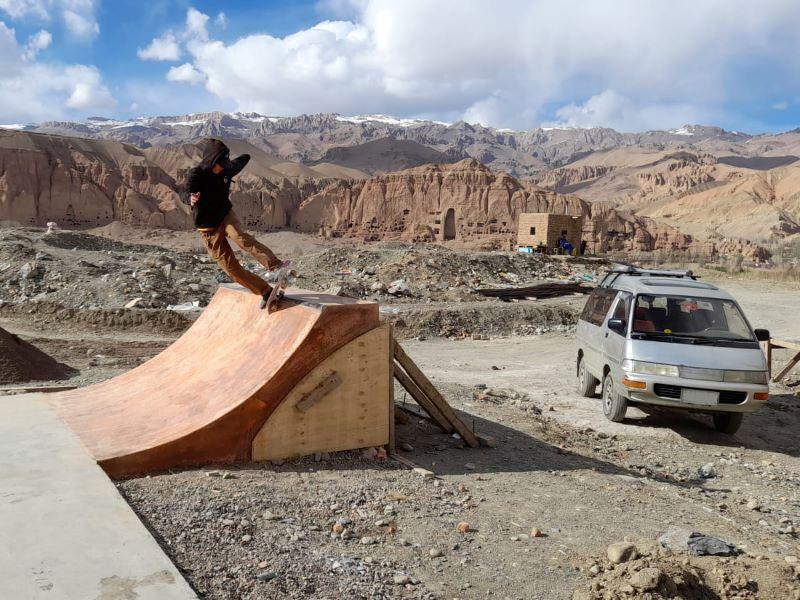 Skateistan Building Bamyan skate park