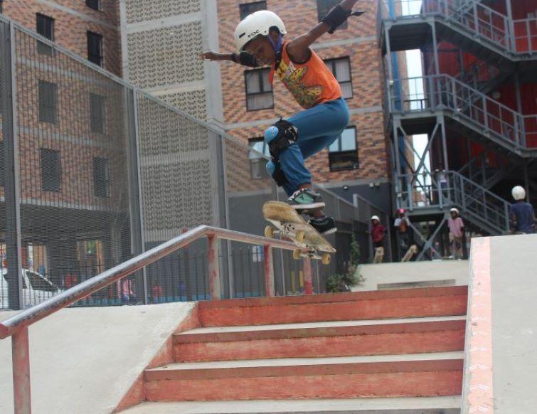 Skateistan, Johannesburg skatepark