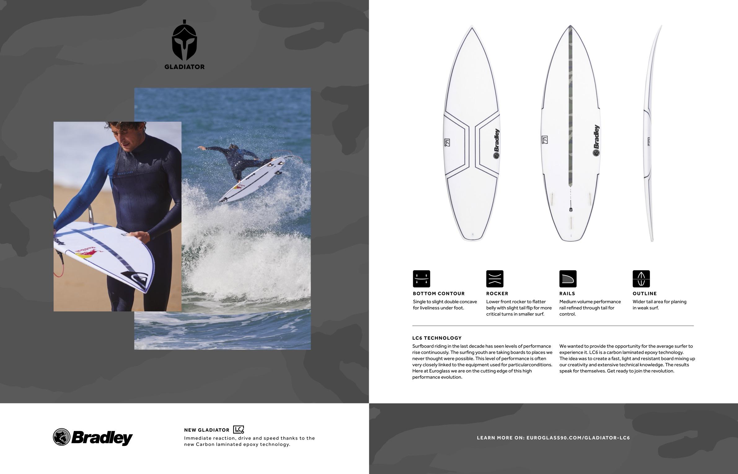 106 euroglass surfboards