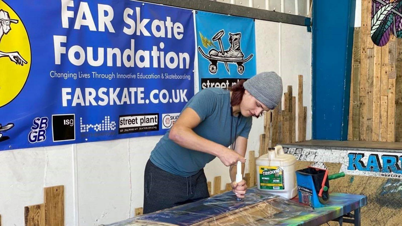 FAR Skate header