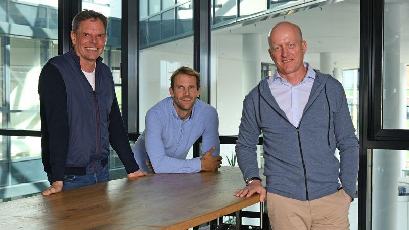 Part of the Surftown core team Chris Boehm-Tettelbach, Michi Mohr, Conrad Albert.