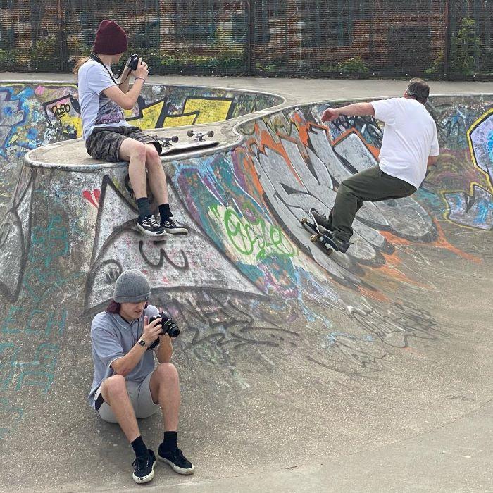 Photography class at the skate park (FAR Skate)