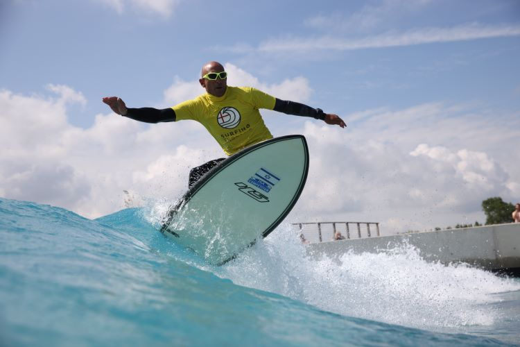 Adaptive Surf Open 2021, The Wave, credit @ImageCabin