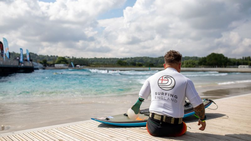 Adaptive Surf Open 2021, the wave