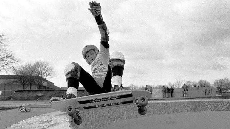Steve Douglas Layback rollout, 1981