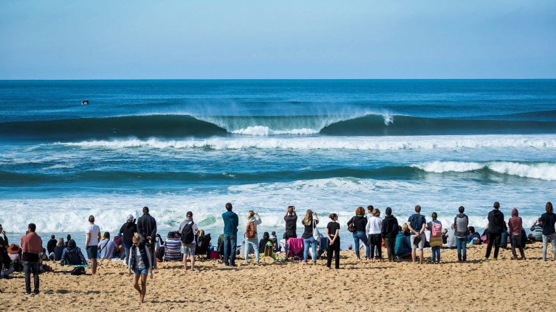 The Quiksilver and ROXY Pro France comes back in 2021 as a Challenger Series event. Credit_WSL_Poullenot