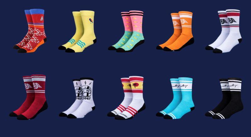 Stinky Socks product selection