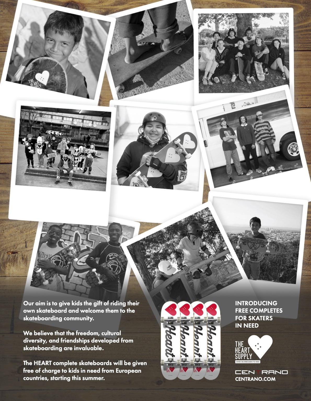 107 Heart Supply Skateboards
