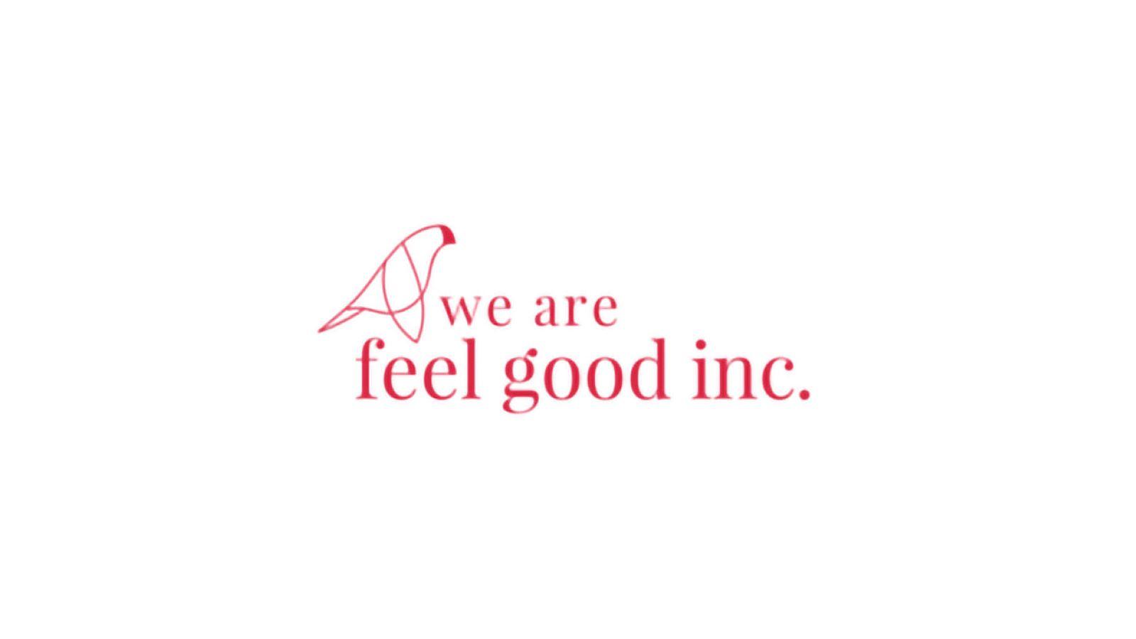 We are feel good logo