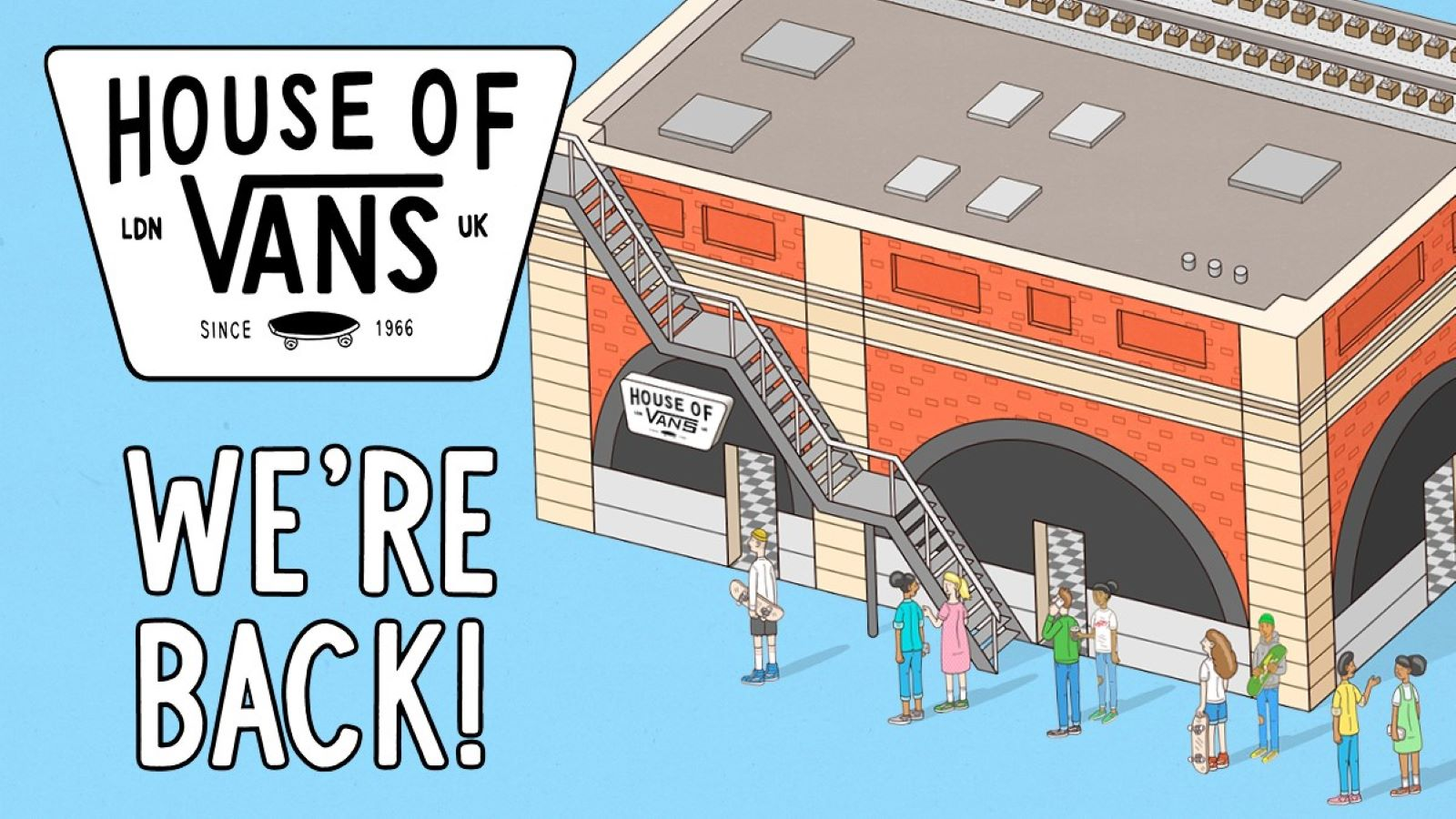 House of Vans reopening event