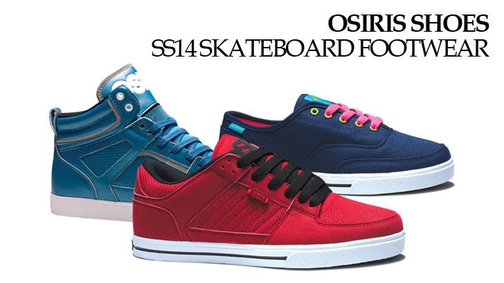 OSIRIS Skateboard Footwear Preview